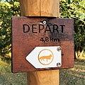Luxembourg, Bambësch départ sentier renard.jpg