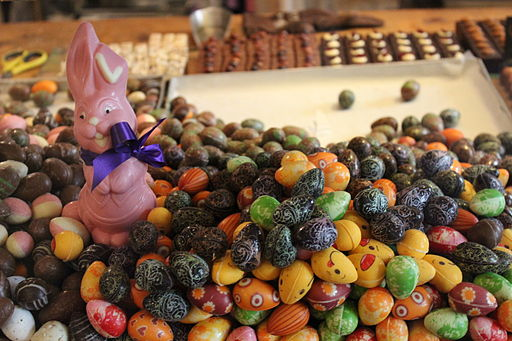 Luxembourg Chocolate Easter Eggs