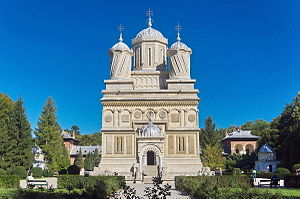 Religion in the European Union - Curtea de Argeș Monastery in Romania.