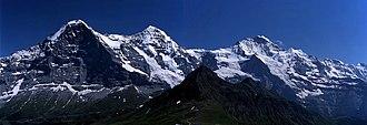 Jungfrau - Eiger, Mönch and Jungfrau