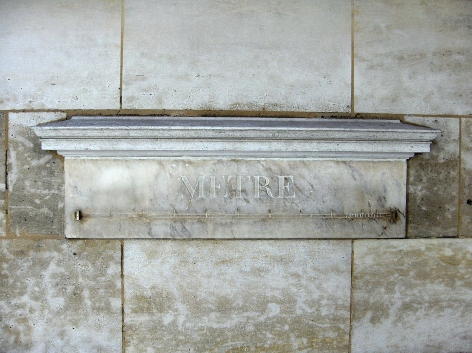 Mètre étalon (36, rue de Vaugirard, Paris)