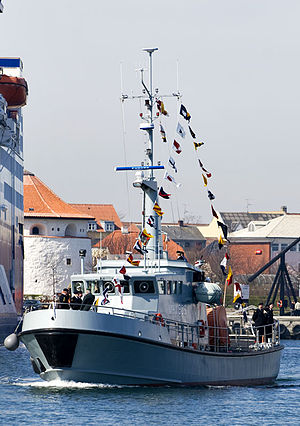 Home Guard (Denmark) - Danish Naval Home Guard vessel MHV906 Fænø
