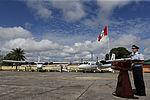 MINISTRO VALAKIVI ENTREGÓ MODERNA FLOTA DE 12 AERONAVES CANADIENSES TWIN OTTER DHC-6 SERIE 400 A LA FUERZA AÉREA DEL PERÚ (18968700644).jpg