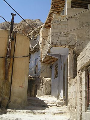 Maaloula-narrow street
