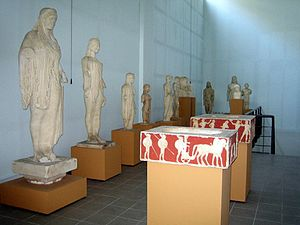 Museum of Plaster Casts (Thessaloniki) - Image: Macedonian Museums 98 Plaster Casts Thess 444