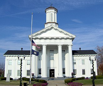 Madison County, Kentucky - Image: Madison County, Kentucky courthouse