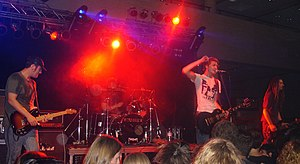 Madsen (band) - Madsen performing at Campus Live Open Air in 2005