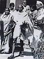 Mahatma Gandhi with Sarojini Naidu.jpg