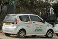 Mahindra e2o Plus battery electric car, cropped (2).png