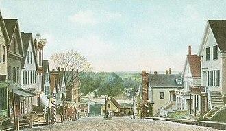 Richmond, Maine - Image: Main Street, Looking East, Richmond, ME