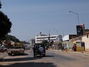 Singida (town) - Image: Main Street in Singida