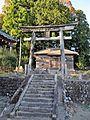 Main approach to Sakamine-jinja shrine in Kashima ward.JPG