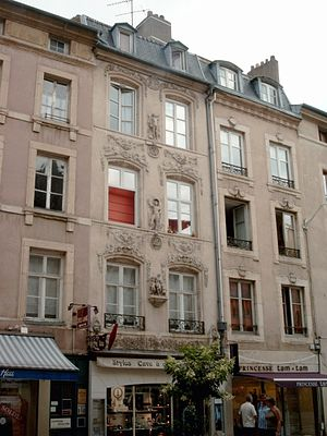 Nicolas-Sébastien Adam - The Adam family home in Nancy