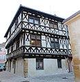 Maison pans bois rues Église Tour Église Charlieu 1.jpg
