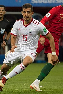 Majid Hosseini at IRNPOR match 2018 FIFA World Cup.jpg