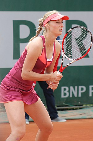 Ekaterina Makarova - Makarova at the 2013 French Open