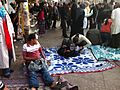 Makeshift clinics have cropped up on sidewalks in Tahrir - Flickr - Al Jazeera English.jpg