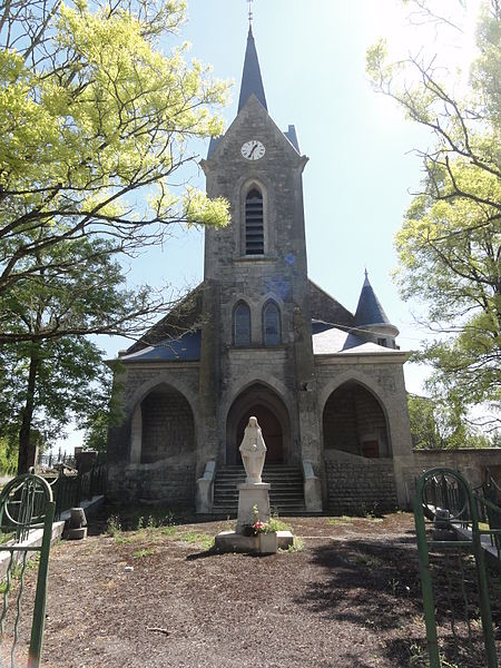 Malancourt (Meuse) église