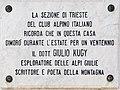Malborghetto Valbruna Gedenktafel Julius Kugy 30032015 1287.jpg