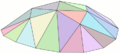 Malla irregular de triángulos modelizando una superficie convexa.png