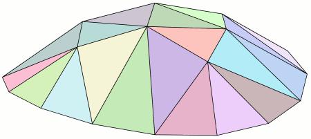 Malla irregular de tri%C3%A1ngulos modelizando una superficie convexa