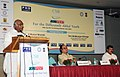 """Mallikarjun Kharge addressing at the inauguration of the """"JOB FEST"""" for the Differently- Abled Youth, in New Delhi on July 20, 2011. The Union Minister for Social Justice and Empowerment, Shri Mukul Wasnik is also seen.jpg"""
