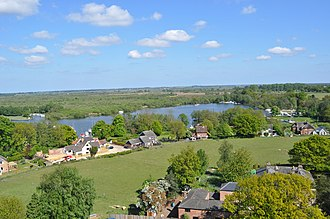 Ranworth - Malthouse Broad from Ranworth church tower
