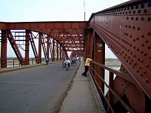 Upper deck of the Malviya Bridge