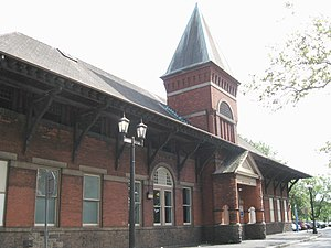 Mamaroneck (Metro-North station) - Station house
