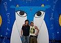 Manu Chao y Jacek Wozniak - M.A.N.W.O.Z en el Centro Cultural de la Memoria Haroldo Conti 2015 (16675401197).jpg