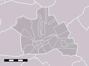 Harmelerwaard - Image: Map NL Woerden Harmelerwaard