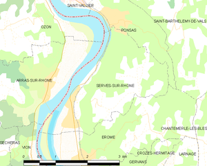 Map commune FR insee code 26341.png