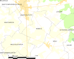 Map commune FR insee code 50330.png