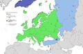 Map of Europe 2007 (political) de.png