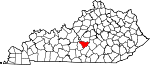 State map highlighting Taylor County