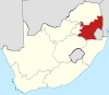 Map of South Africa with Mpumalanga highlighted.svg