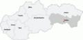 Map slovakia haniska pri Kosiciach.png