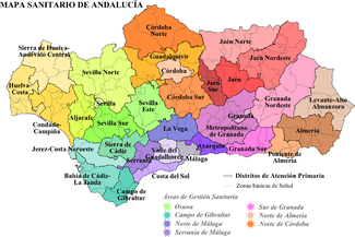 Andalusia Wikipedia - Map of andalusia