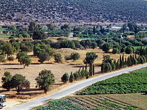 Marathon, Greece - The burial mound of the Plataeans, fallen at the Battle of Marathon