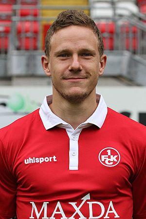 Marcel Gaus - Gaus with 1. FC Kaiserslautern in 2015