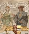 Maria of Julich-Berg and her husband, John III, Duke of Cleves.png