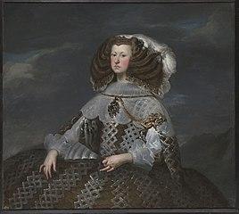 Marie-Anne d'Autriche, reine d'Espagne (1635-1696), régente