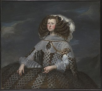 Mariana of Austria - Mariana by Velázquez, 1660.