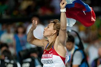 Javelin throw - Maria Abakumova 2011 World Athletics Championships