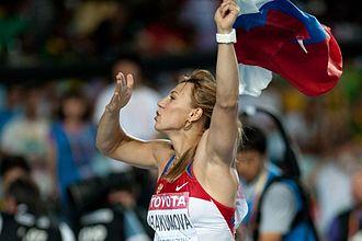 Mariya Abakumova - Abakumova at the 2011 World Championships