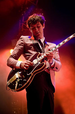 Mark Ronson op het North Sea Jazz Festival in 2008