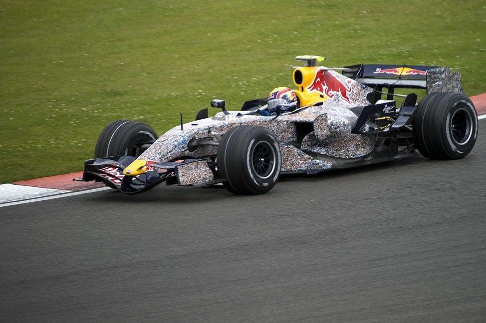 Mark Webber 2007 Britain 2
