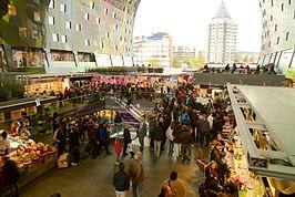 Markthal rotterdam wikipedia for Auto interieur reinigen rotterdam