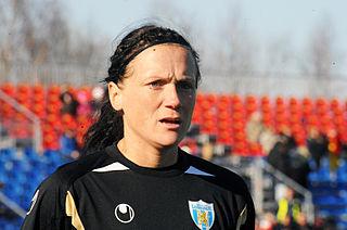 Marlene Sjöberg Swedish footballer