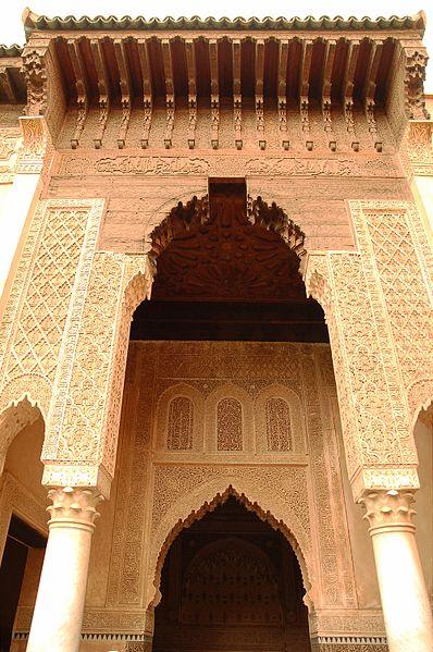 Fichier:Maroc Marrakech Saadiens Luc Viatour 6.jpg